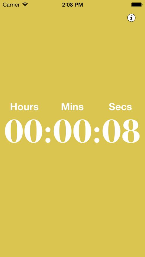 Presentation Timer +++ App 截图