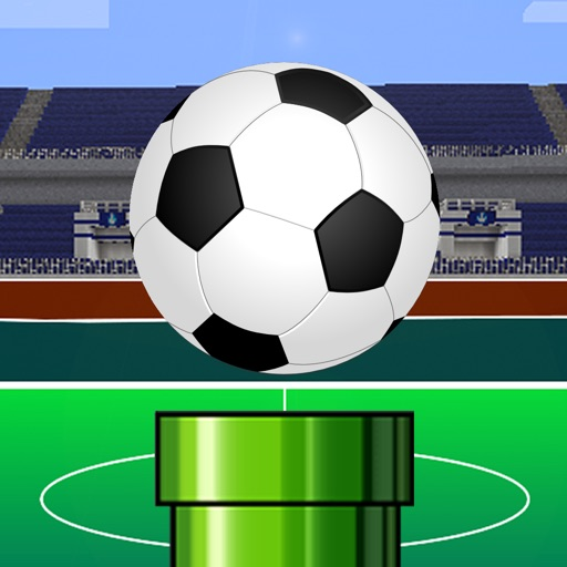 Flick Kick Soccer - Put an arsenal of balls into the pipe and get the trophy to become a football super star!