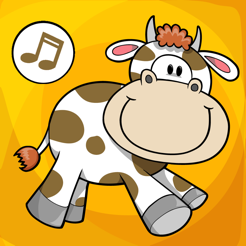 ABC First Words of the Farm: English Word Learning Quiz for Children