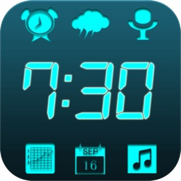 Pro 6 in 1 News Clock Radio Set