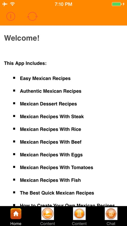 Easy Mexican Recipes screenshot-0
