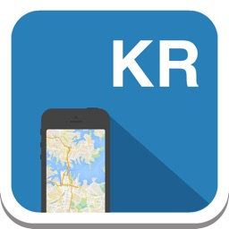 South Korea offline map, guide, weather, hotels. Free GPS navigation.