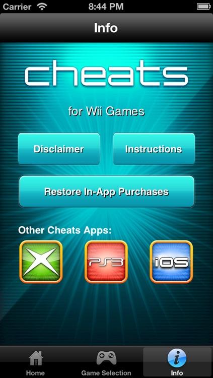 Cheats for Wii Games screenshot-4