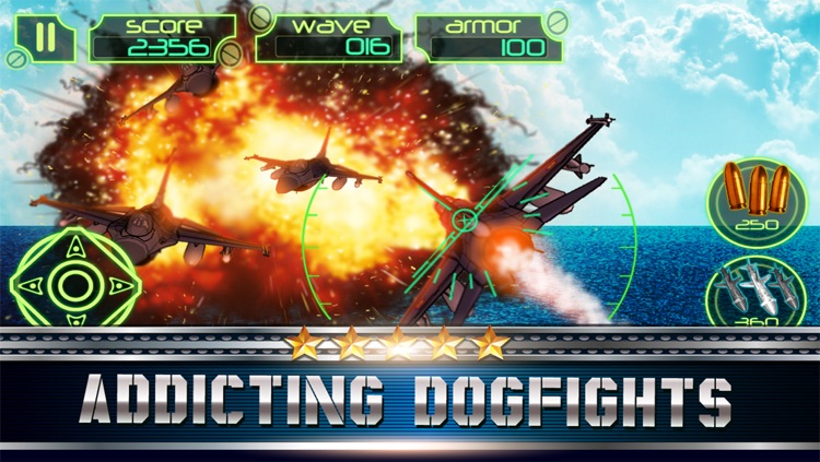 S3 Deadly fighter Jet Battle : Extreme Military War planes