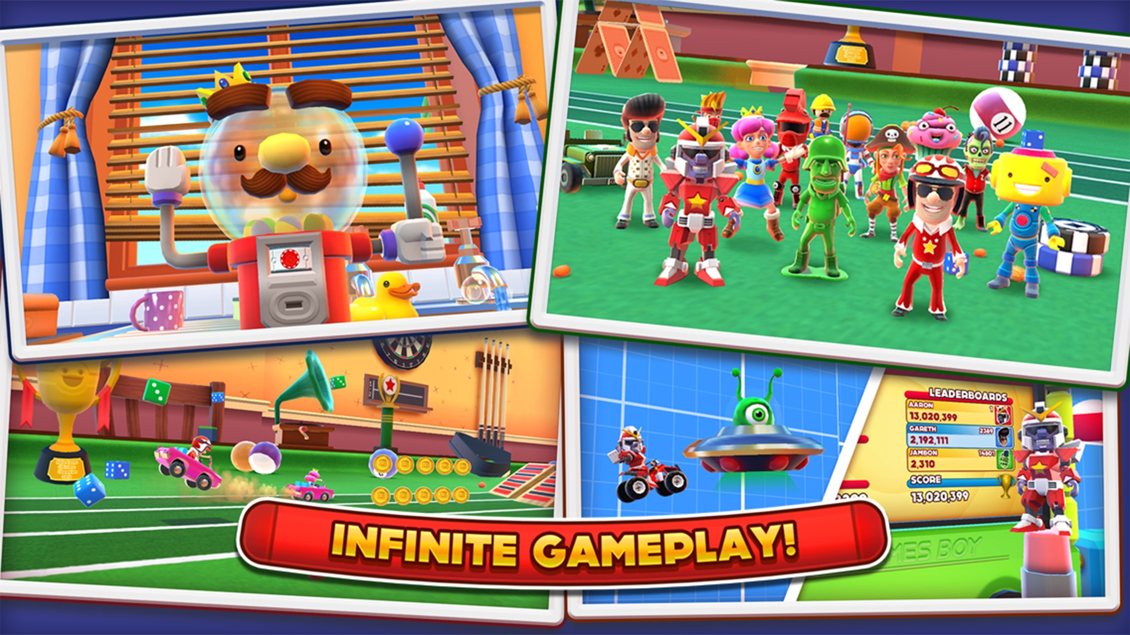 Screenshot do app Joe Danger Infinity