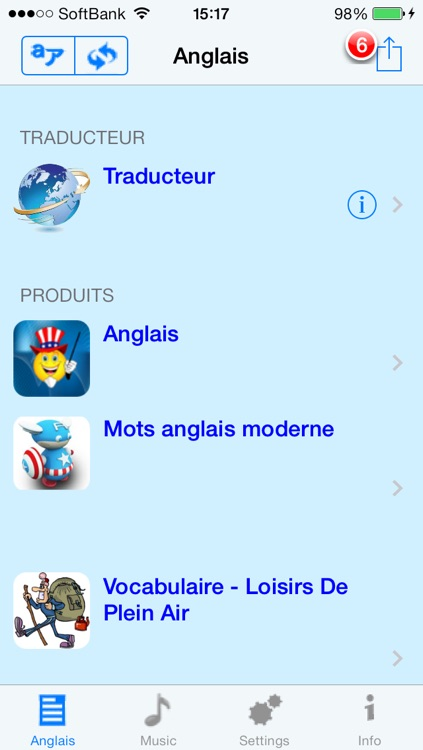 Anglais - French to English Talking Phrase Book and Translator screenshot-4