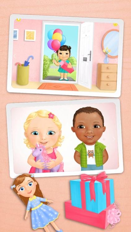 Sweet Baby Girl - Celebrate Baby Birthday, Bake Cake, Get Gifts and Pop Baloons screenshot-4
