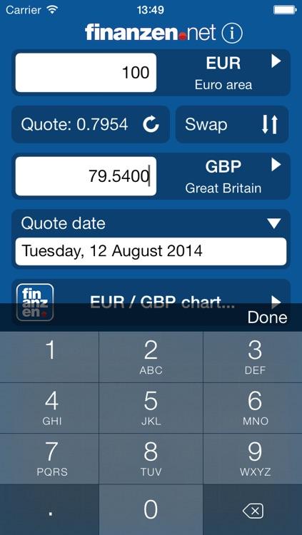 Currency Calculator - finanzen.net