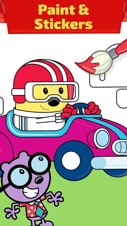 Wubbzy's Race Car screenshot-4