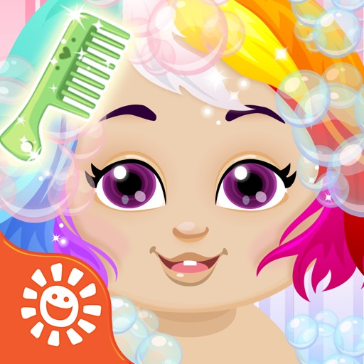 Sunnyville Baby Salon Kids Game - Play Free Fun Cut & Style Babies Hair Games For Girls