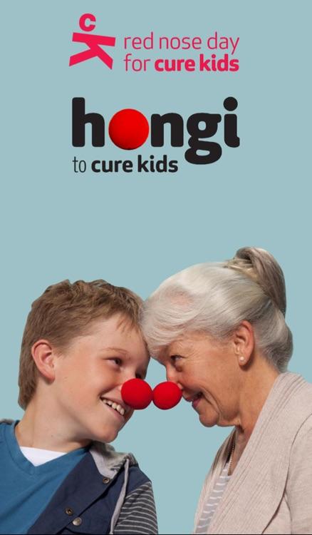 Cure Kids Red Nose Hongi
