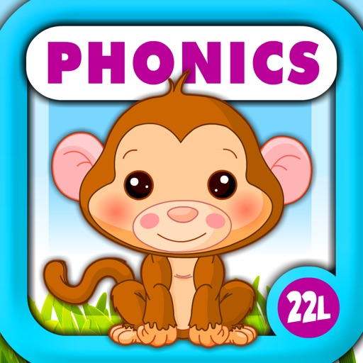 Phonics Island • Early Reading, Spelling & Tracing Montessori Preschool and Kindergarten Kids Learning Adventure Games by Abby Monkey® Alphabet and Letter Sounds Reader