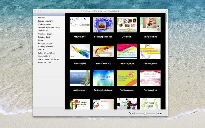 Templates - for MS PowerPoint for Mac
