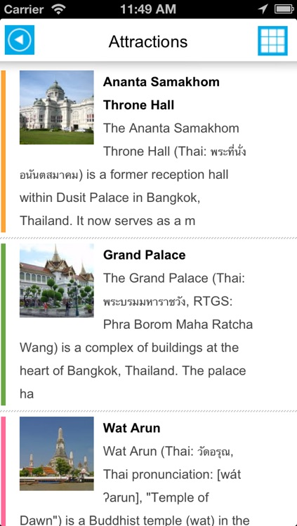 Bangkok offline map, guide & hotels screenshot-2
