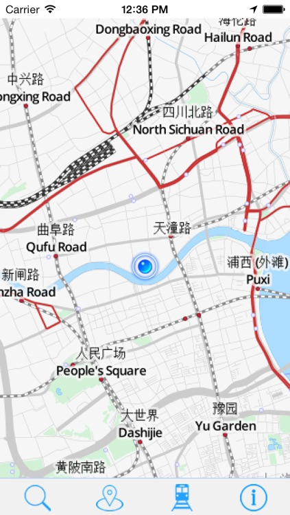 Offline Map Shanghai - Guide, Attractions and Transport