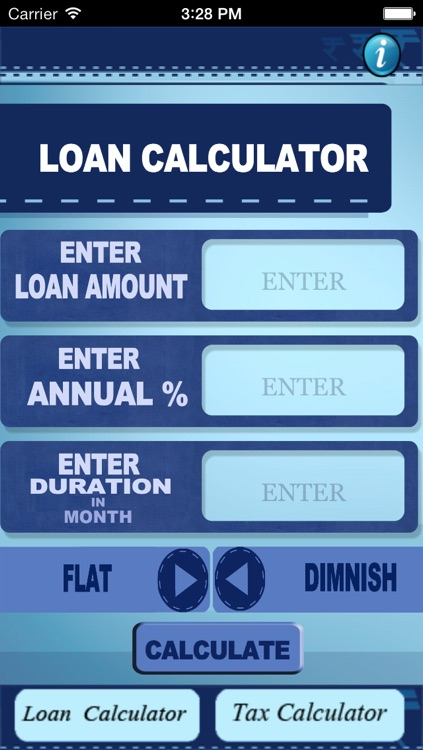Loan 'N' Tax Calculator - India
