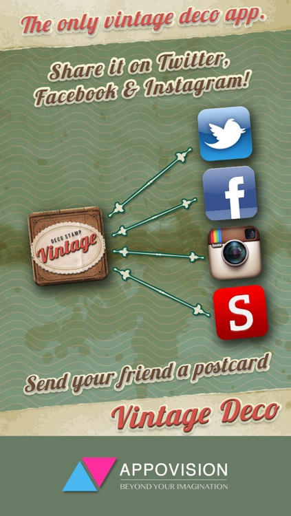Vintage Deco Pro - Sticker Camera for Photo Editing screenshot-4