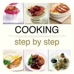 Cooking Step by Step Cookbook - Main Dishes & Desserts for iPad