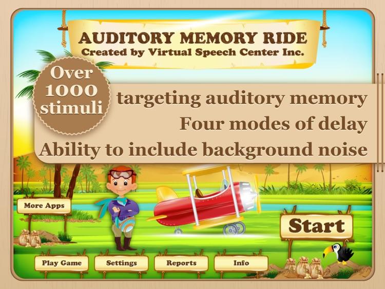 Auditory Memory Ride