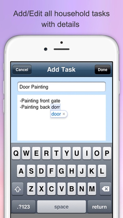 household checklist chore list house cleaning checklist app price