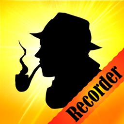 Detective's Voice Recorder - One Touch Fast Secret and Professional Recorder