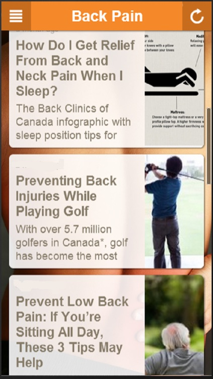Back Pain Relief - Learn How To Relieve Back Pain Easily screenshot-4