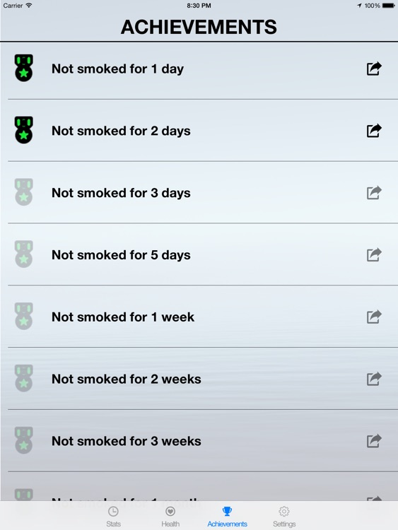 JustQuit HD - Quit Smoking App For A Healthy Smokefree Life screenshot-4