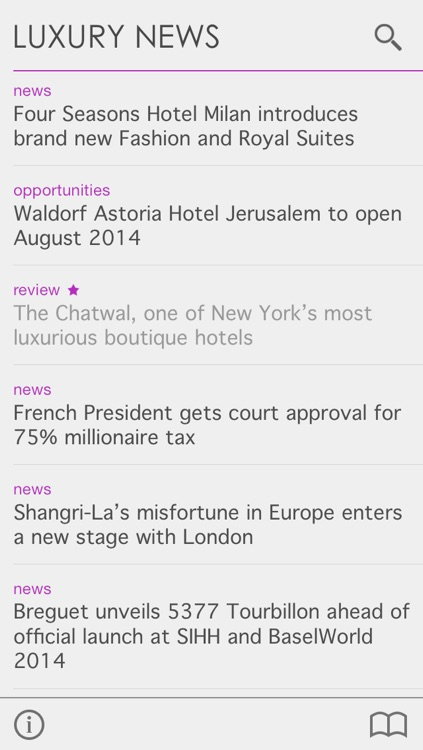 Luxury News by CPP-LUXURY