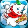 Polar Bear Pizza Party - Free Frozen Arctic Pizza Adventure