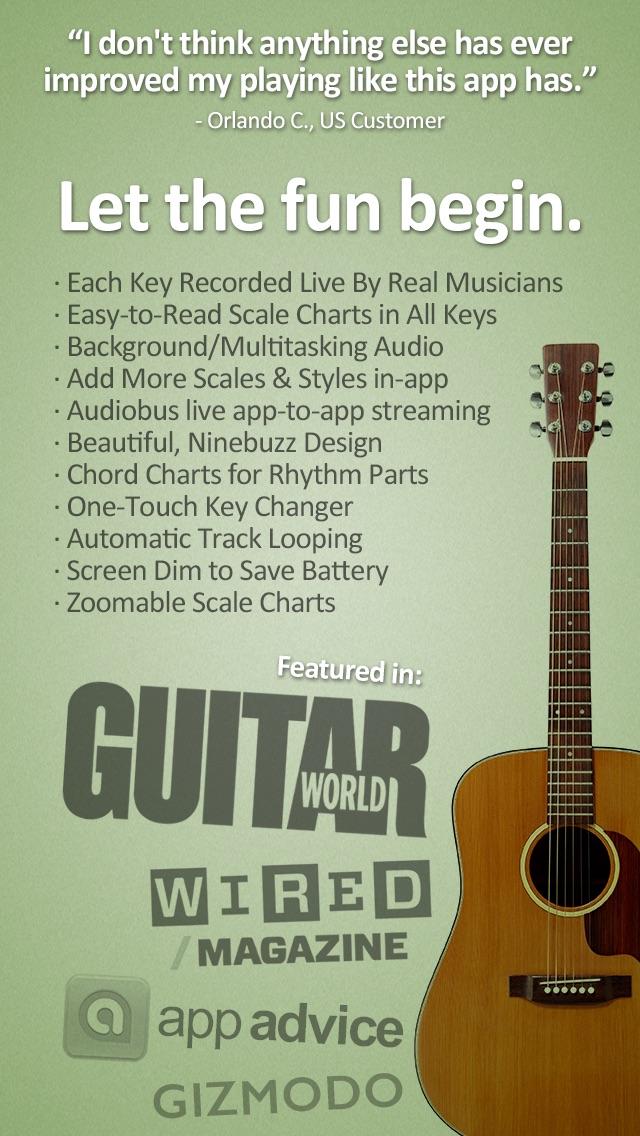 Guitar Jam Tracks Acoustic Blues Free Scales App App Price Drops