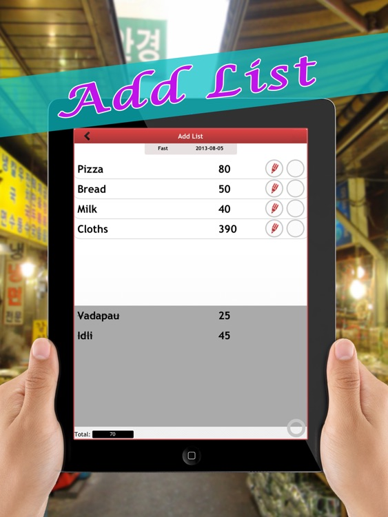 Shopping Checklist - Task list + Password protected personal information data vault manager free screenshot-3