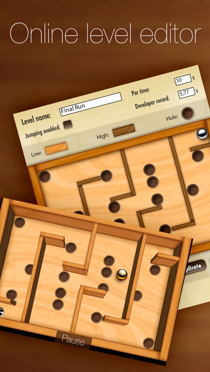 Wooden Labyrinth 3D Free