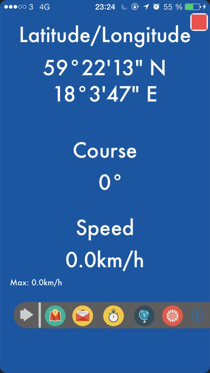 GPS Locator for Trekking, Hiking, Running and Sailing...