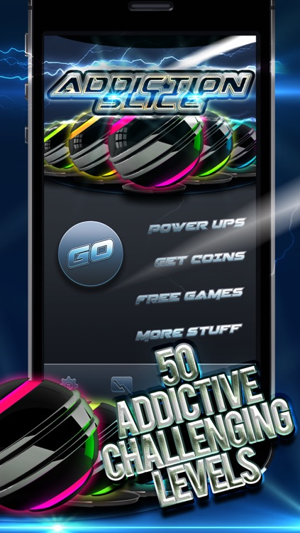 Addiction Slice - The Super Addictive Slash, Cut and Swipe Free Puzzle Game screenshot-0