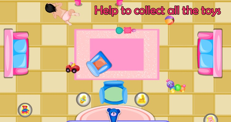 Take care for baby - Kids game