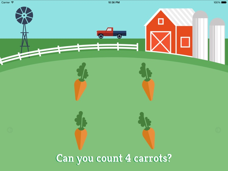 Preschool Farm Fun - Teach your child colors, counting, shapes and puzzles using yummy Vegetables! screenshot-4