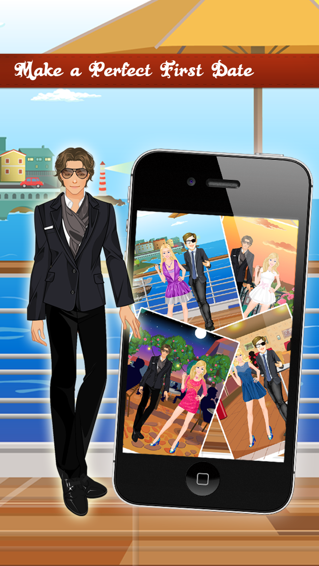 First Date Makeover, Spa , Dress up , Free games for Girlsのおすすめ画像2