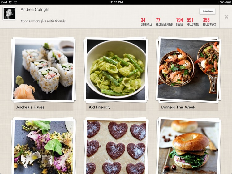 Foodily for iPad: Recipe Sharing With Friends screenshot-4