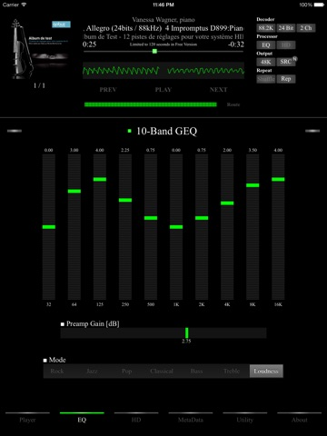 AmpliFlac Free - HD Flac Player-ipad-1
