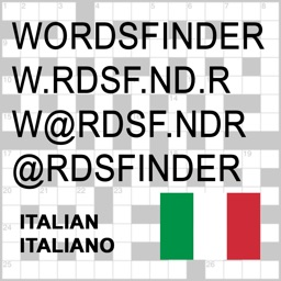 IT Words Finder Italian/Italiano PRO - find the best words for crossword, Wordfeud, Scrabble, cryptogram, anagram, spelling