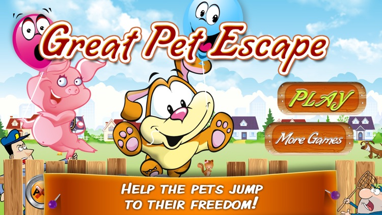 Great Pet Escape – Help the happy pets jump to freedom! screenshot-4