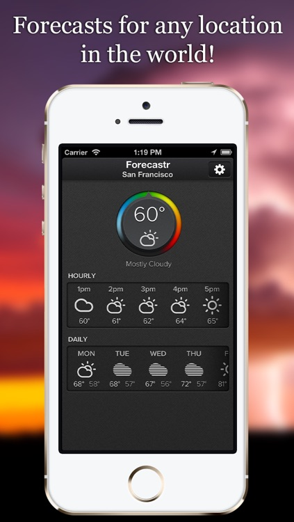 Forecastr Weather Forecasts