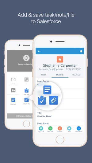 Camcard for salesforce scan bizcard to salesforce on the app store reheart Images