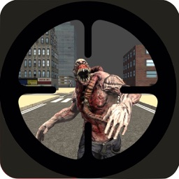 Zombie Kill Sniper Shot Apocalypse 3D: survive the night in the city of dark souls