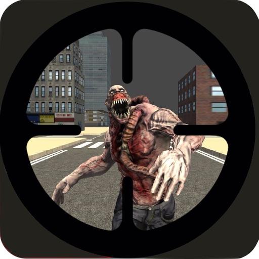Zombie Kill Sniper Shot Apocalypse 3D: survive the night in the city of dark souls