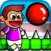 Red Bouncing Ball Juggling - Impossible Spike Dodge Tap