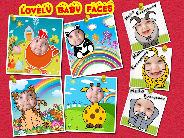 Baby Faces Photo Frames (HD)