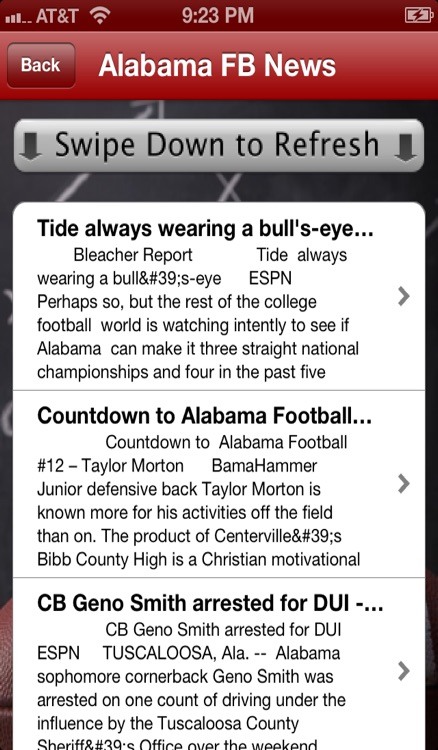 Alabama Football - Crimson Tide News, Schedule, Scores, and Trivia