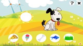 Aktiv-Spiel Für Kinder Über den Bauernhof - Tiere Füttern Lernen Wie Kuh, Hund, Schaf, Pferd, Katze, KaninchenScreenshot von 2