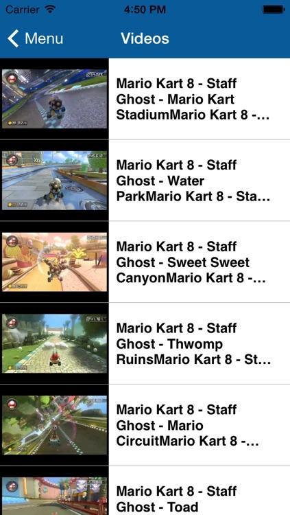 Guide and Stats for Mario Kart 8 screenshot-3